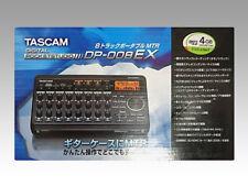 Tascam Multi-Track Enregistreur Numérique Studio de Poche DP-008EX de Japon F/S