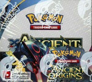 Pokemon TCG XY Ancient Origins Sealed English Booster Box (36 packs)