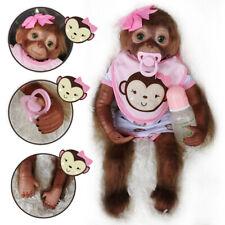 20'' Handmade Reborn Baby Girl Doll Vinyl Silicone Newborn Lifelike Baby Gifts