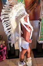 Federhaube Kopfschmuck Miss Java Little Big Horn War bonnet Coiffe Indienne