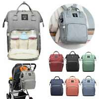 Multifunctional Baby Diaper Nappy Backpack Waterproof Mummy Travel Changing Bag