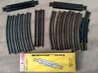 LOT OF 16 VINTAGE HO SCALE TRAIN TRACKS SECTIONS SOME NOS ATLAS BACHMAN AHM LIFE