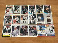 LL) Lot of 34 Different WAYNE GRETZKY Hockey Cards TOPPS SCORE KINGS HOF++