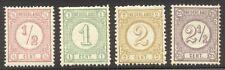 NETHERLANDS #34-37 Mint NH - 1876-94 Numerals Set