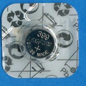 4 x 399 SR927W V399 D399 SR57 1.55V Silver Oxide Watch Batteries Cell Rayovac