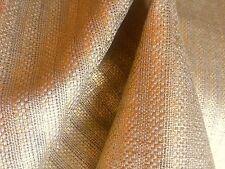 """ SASSIERE "" METALLIC GOLD LINEN WIDE WIDTH FABRIC - DESIGNERS GUILD 2.25 YDS"