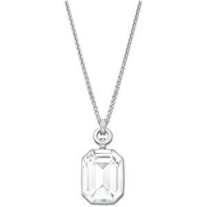 Swarovski Clear Crystal Pendant Necklace ACCESS Rhodium -5020061 New