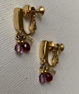Vintage Napier Screw Back Earrings