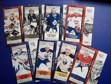 2013-14 PANINI CONTENDERS COMPLETE 100 HOCKEY CARD BASE SET