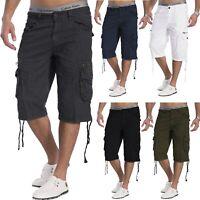 Mens Cargo Shorts Bermuda 100% coton pantalon cargo court qualité