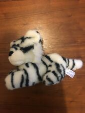 America Wego White Tiger Plush Stuffed Toy Animal 1989