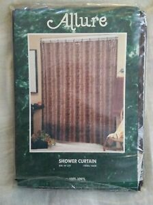 Allure Reptile (Alligator Snake) Design Vinyl Shower Curtain