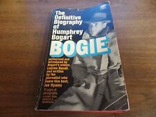 The Definitive Biography of Humphrey Bogart Bogie 1967 Mystery Novel 121415ame