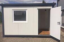 Bürocontainer Wohncontainer Gartenhaus 4,00 x 2,20 Meter -Neu, sofort