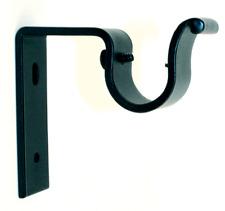 "Standard Iron Bracket for 1"" Iron Drapery Rod,Curtain Rod Screws Included"