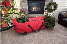 "Premium Polyester Christmas Tree Storage Bag.9 ft. Artificial Tree heavy EZ 57"""