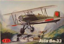 Avia Ba-33 (Japan, Eslovaquia, República checa) ,1:72 , AZ Model , Escultura