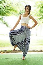 Harem Pants Aladdin Casual Boho Baggy Woman Yoga Gypsy Indian Hippie Trouser T51