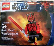 NEW LEGO STAR WARS SHIRTLESS DARTH MAUL MINIFIGURE - 5000062 - POLYBAG SET