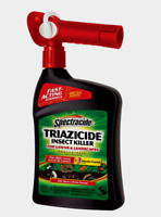 New! Spectracide TRIAZICIDE For Lawns Insect Killer Hose Sprayer 32 oz. HG-95830