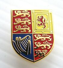 The Royal Cypher Standard Crest Lapel Pin Army Military Badge in Gift Pouch