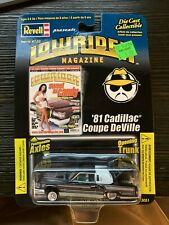 Revell Lowrider Magazine 81 Cadillac Coupe DeVille Issue #122