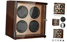 CHIYODA Watch Winder Four Watches, LCD Touch Display & Control Screen