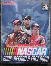 2005 Official NASCAR Record & Fact Book with Gordon, Johnson & Earnhardt, Jr.