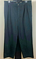 Country Road Men's Black Cotton Chinos/Pants/Trousers Size 34 - Free Post