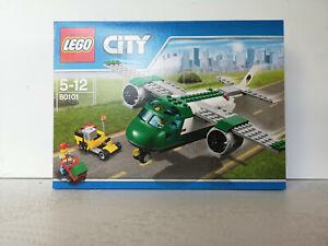 LEGO CITY 60101  avion cargo vert turboréacteur  boite neuve et et scellée