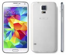 New Overstock Verizon Samsung GALAXY S5 SM-G900V WHITE Android PHONE