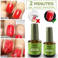 Magic Nail Gel Remover Soak Off Base Matte Top Coat Burst Polish Nail Art Primer