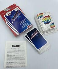 RAGE 1983 Vintage Card Game, By the Makers of UNO, International Games Rare USED