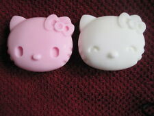 2 Hello Kitty Decorative Moisturizing Soaps with Peppermint Scent