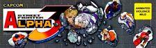 """Street Fighter Alpha 3 Arcade Marquee 26""""x8"""""""