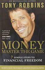Money Master The Game 7 Simple Steps To Financial Freedom Book By Tony Robbins