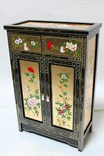 oriental furniture cabinet, Chinese cabinet, gold leaf lacquer cabinet,