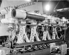 Photograph  U.S.S. Cincinnati Vintage Navy Ship Steam Engine  Year 1894  11x14
