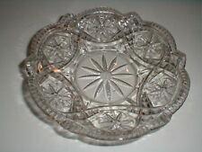 EAPG US Glass GEORGIA BELLE/WESTERN STAR Butter Dish Base (loc-sau4)