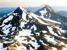 (10141) Postcard - Cascades Volcanoes - Three Sisters, Oregon
