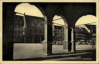 Freiburg im Breisgau Baden-Württemberg AK ~1930/40 Marktplatz Platz Markt Häuser