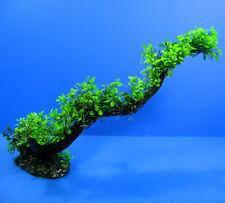 """3D Aquarium PLASTIC PLANTS 23""""L - Ornament fish Decor FISH TANK"""