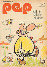 PEP 1973  nr. 07 - EARTH & FIRE (POSTER) /JOHNNY  REP (AJAX) / OLIVIER BLUNDER