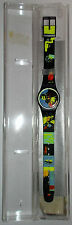 OROLOGIO - WATCH - RELOJ/ ORIGINAL SWATCH QUARTZ/ LB125 - SUN LADY - 1989