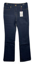 Neues AngebotNur dann wirklich WOW Slim Leg Boot Cut Jeans, dark indigo, UK 12 w28 l30 Bnwt