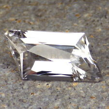 DANBURITE-MEXICO 12.83Ct FLAWLESS-VERY VERY LIGHT PINK-FOR TOP JEWELRY!
