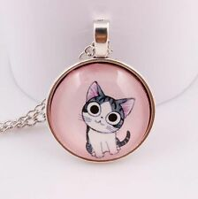 Cute cat Necklace Necklace