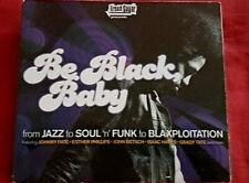 """ BE BLACK BABY "" CD DIGIPAK FUNK"