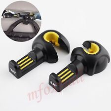 2PCS Vehicle Seat Hook Headrest Holder Portable Hanger Interior Accessories