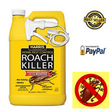 Harris Roach Killer Liquid Spray with Odorless and Non Staining suspende Formula